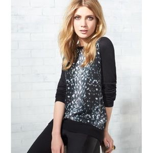 Joie Malena B. Mixed Media Sweater size M